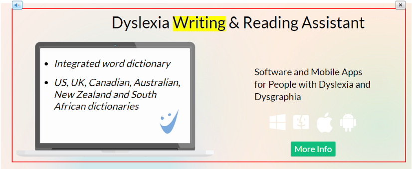Ghotit Dyslexia Real Writer & Reader