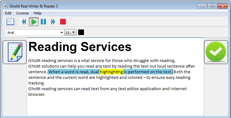 Reading Services