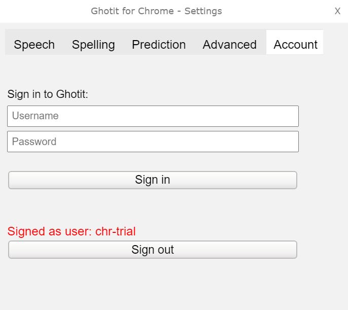 Figure 11. Account Personalization