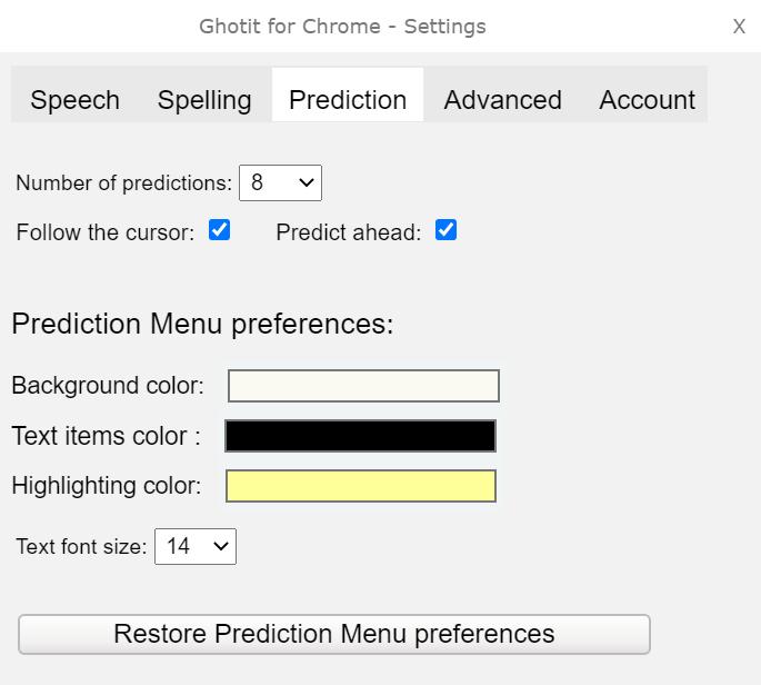 Figure 9. Prediction Personalization